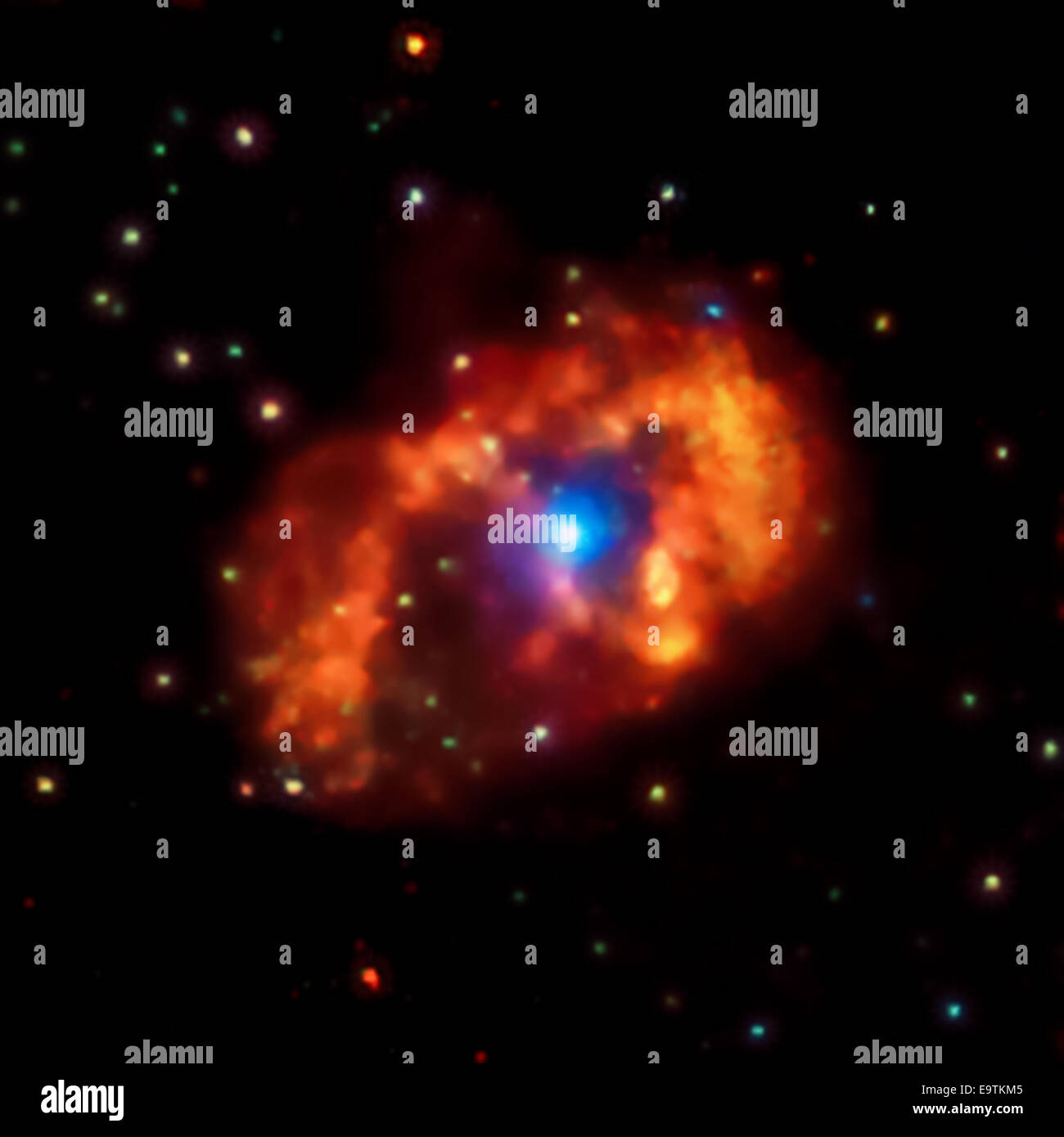 the eta carinae star system does not lack for superlatives not only