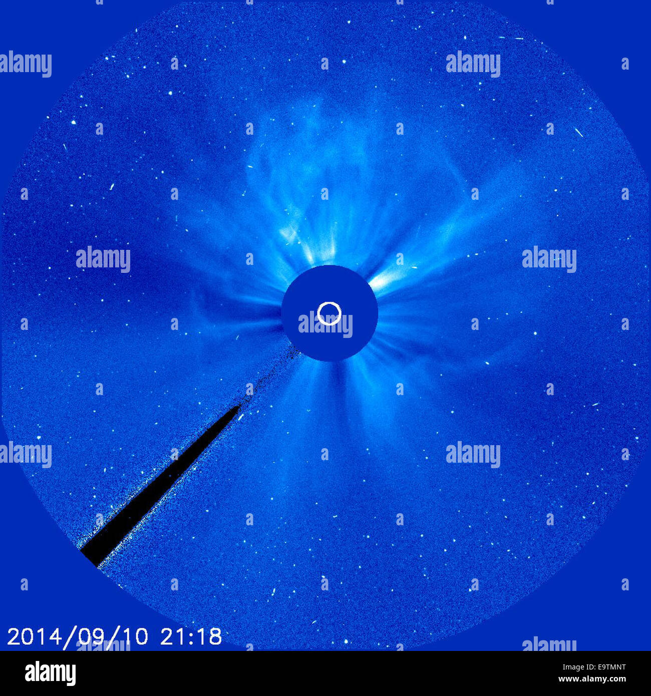 Earth-Directed X-Class Flare and CME - Stock Image
