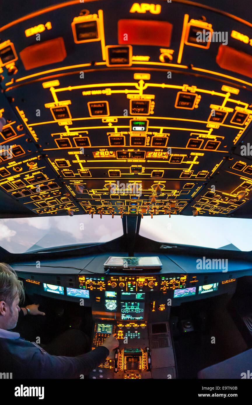 Flight Simulator Stock Photos & Flight Simulator Stock