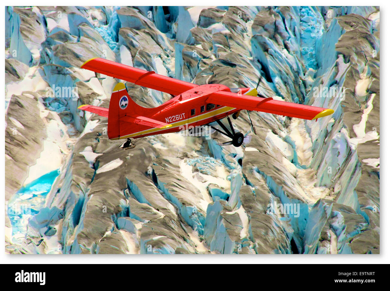 NASA Airborne Campaigns Focus on Climate Impacts in the Arctic - Stock Image