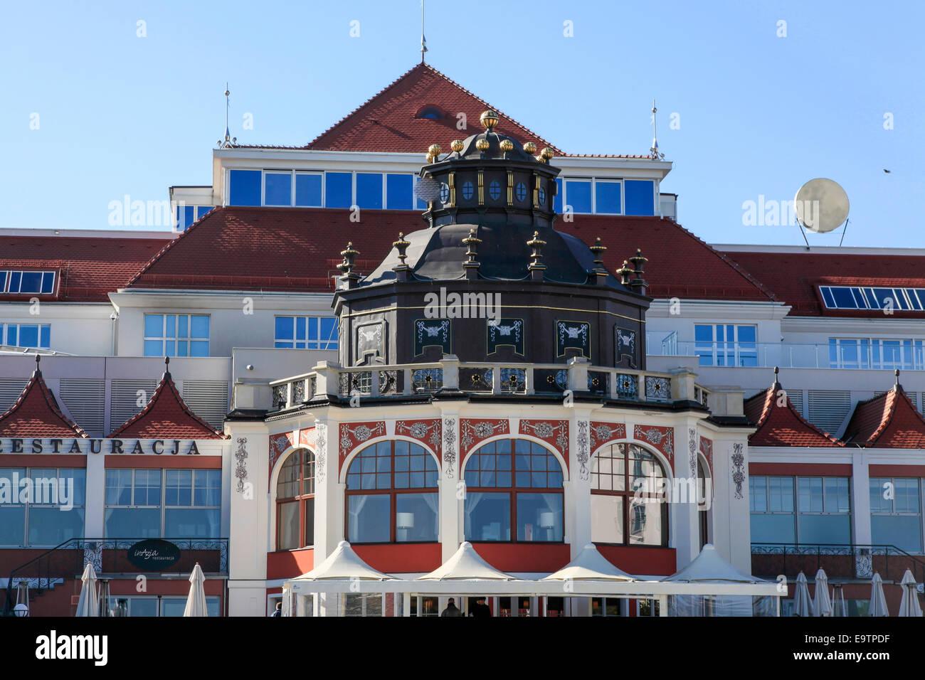 Sopot, Poland - Stock Image