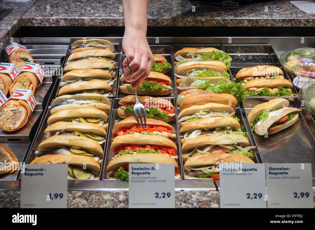 Healthy Fast Food Germany