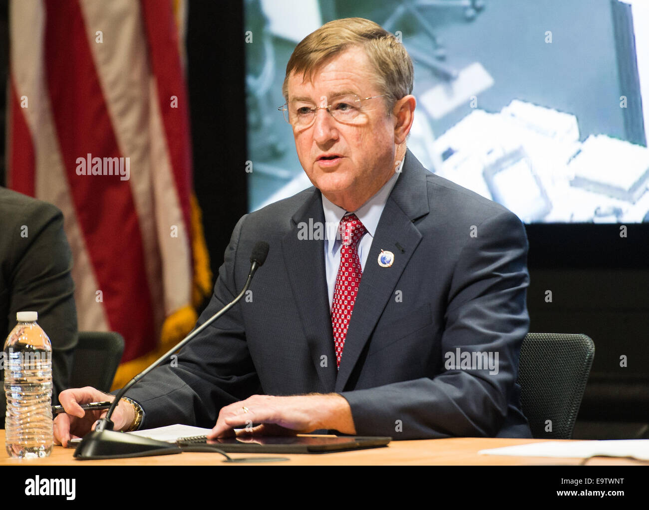 Frank Culbertson, Executive Vice President and General Manager of Advanced Program Group at Orbital Sciences Corp. Stock Photo