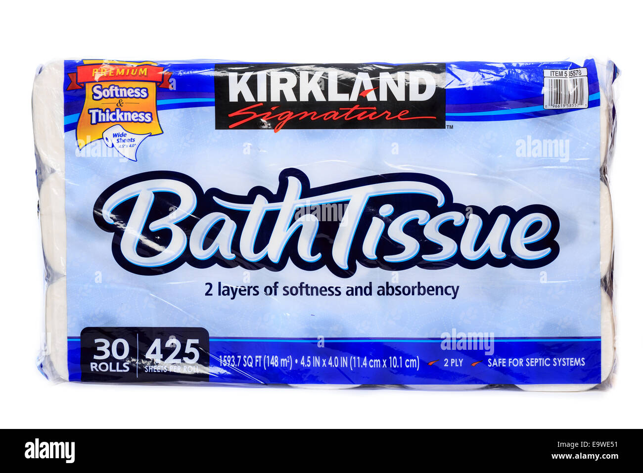 Costco bulk bag of Kirkland Signature Bath Tissue Toilet Paper with ...