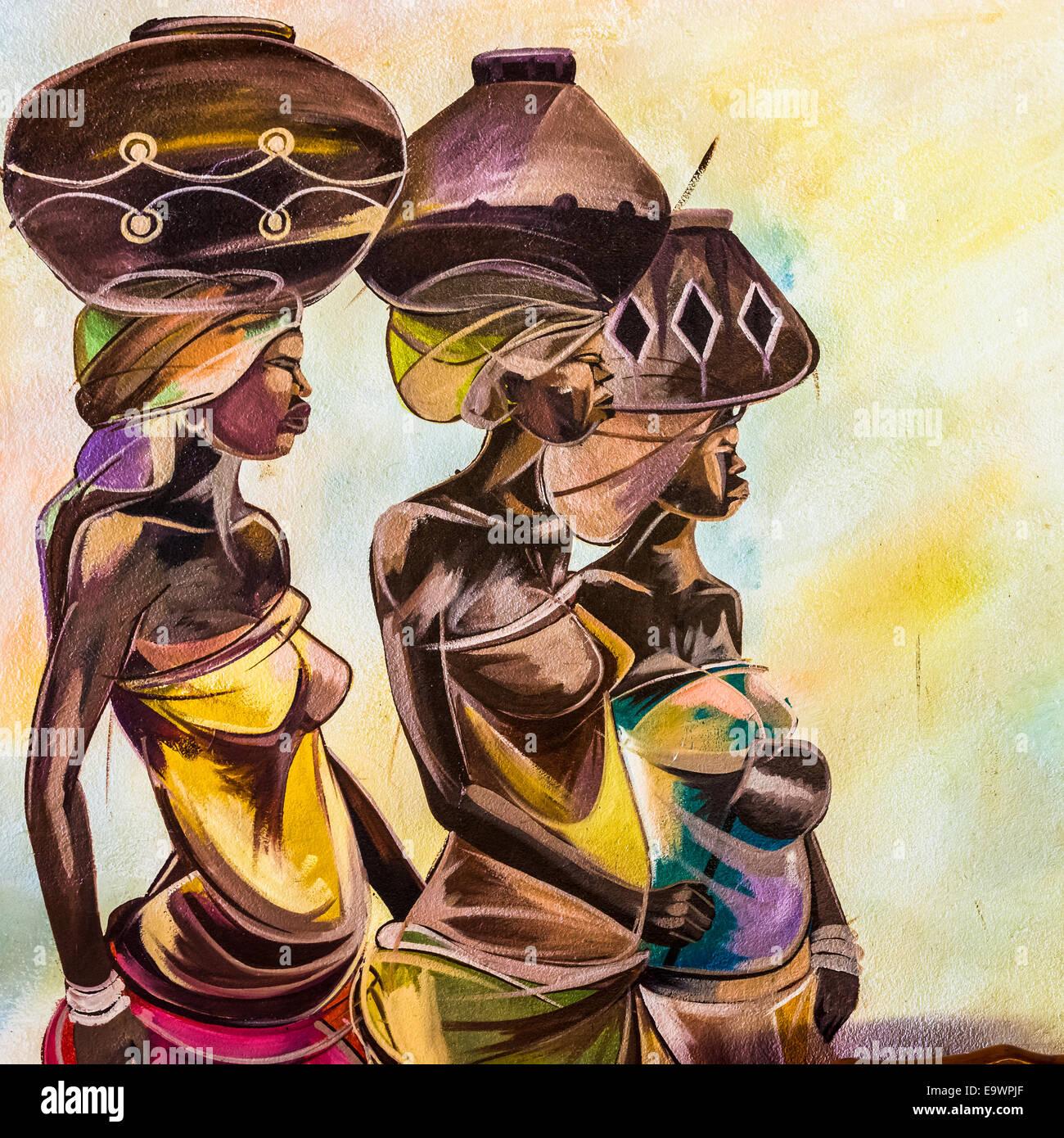 Masai Art Stock Photos & Masai Art Stock Images