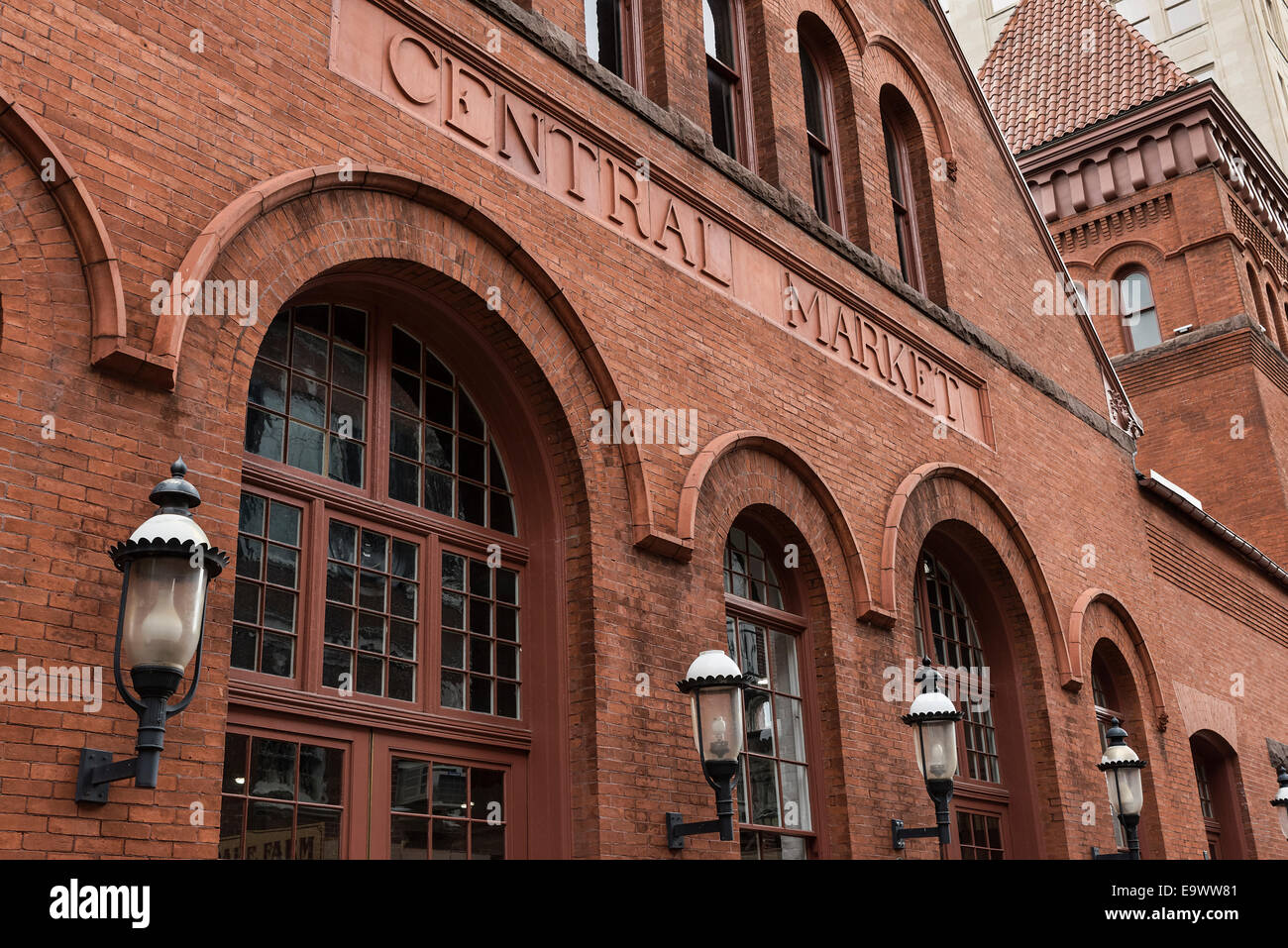 The Central Market, The country's oldest farmers' market, Lancaster, Pennsylvania, USA - Stock Image