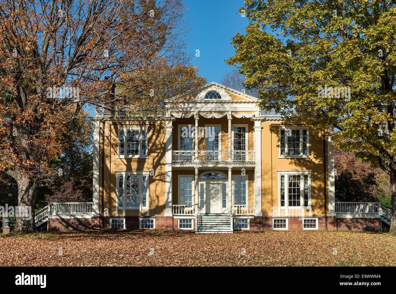 Lovely Boscobel House And Gardens, Garrison, New York, USA