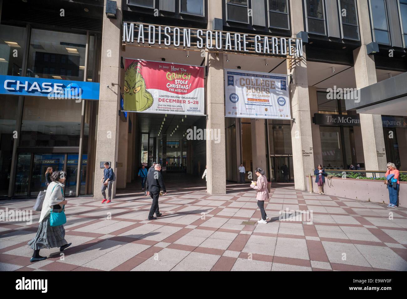 Knicks stock photos knicks stock images alamy for New york knicks madison square garden