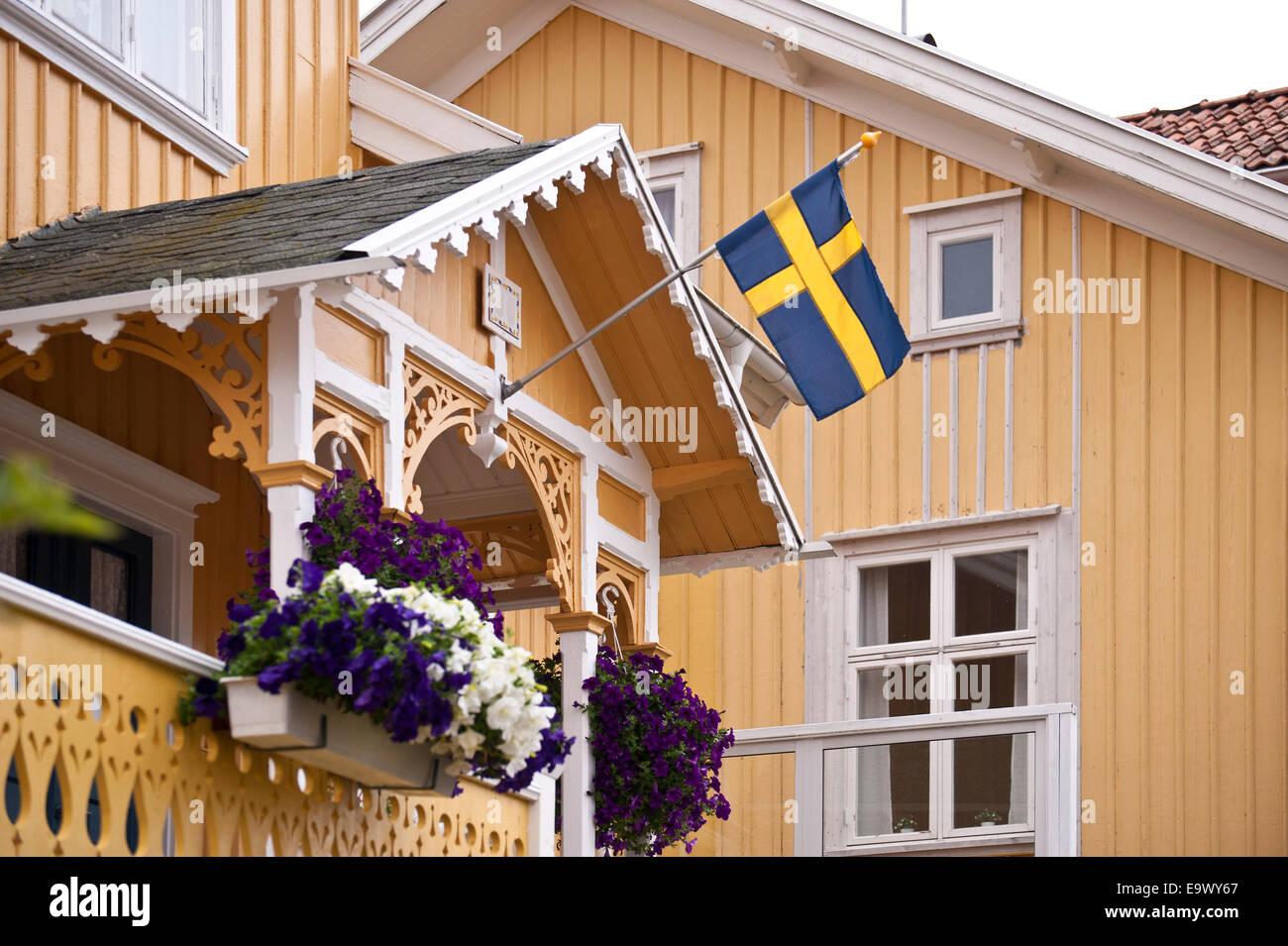 Swedish house Stock Photo