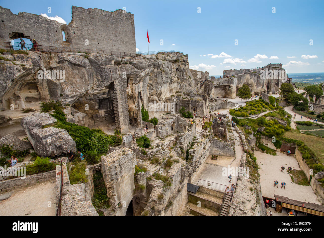 Chateau Des Baux De Provence High Resolution Stock Photography And Images Alamy