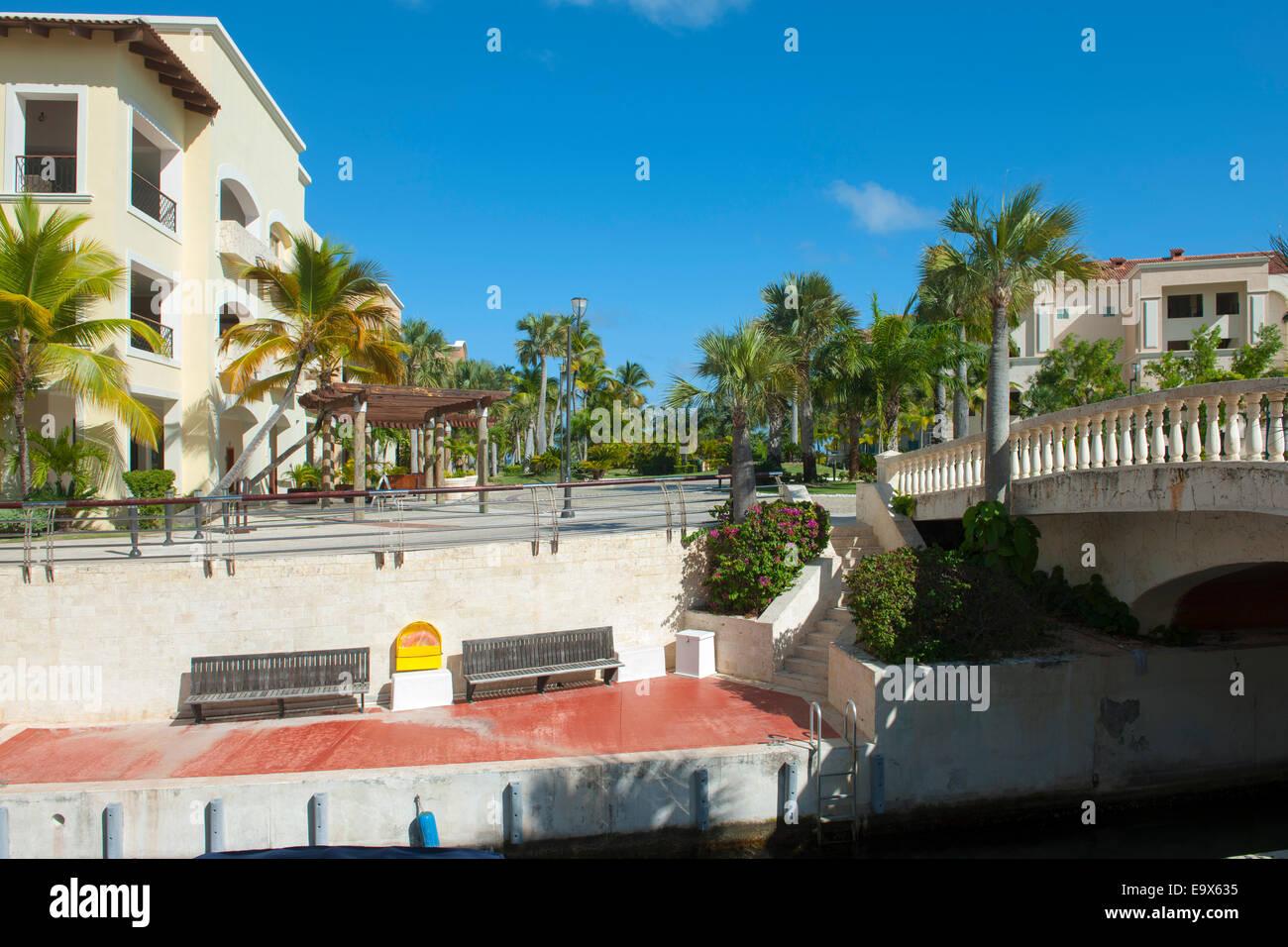 dominikanische republik osten punta cana cap cana stock photo