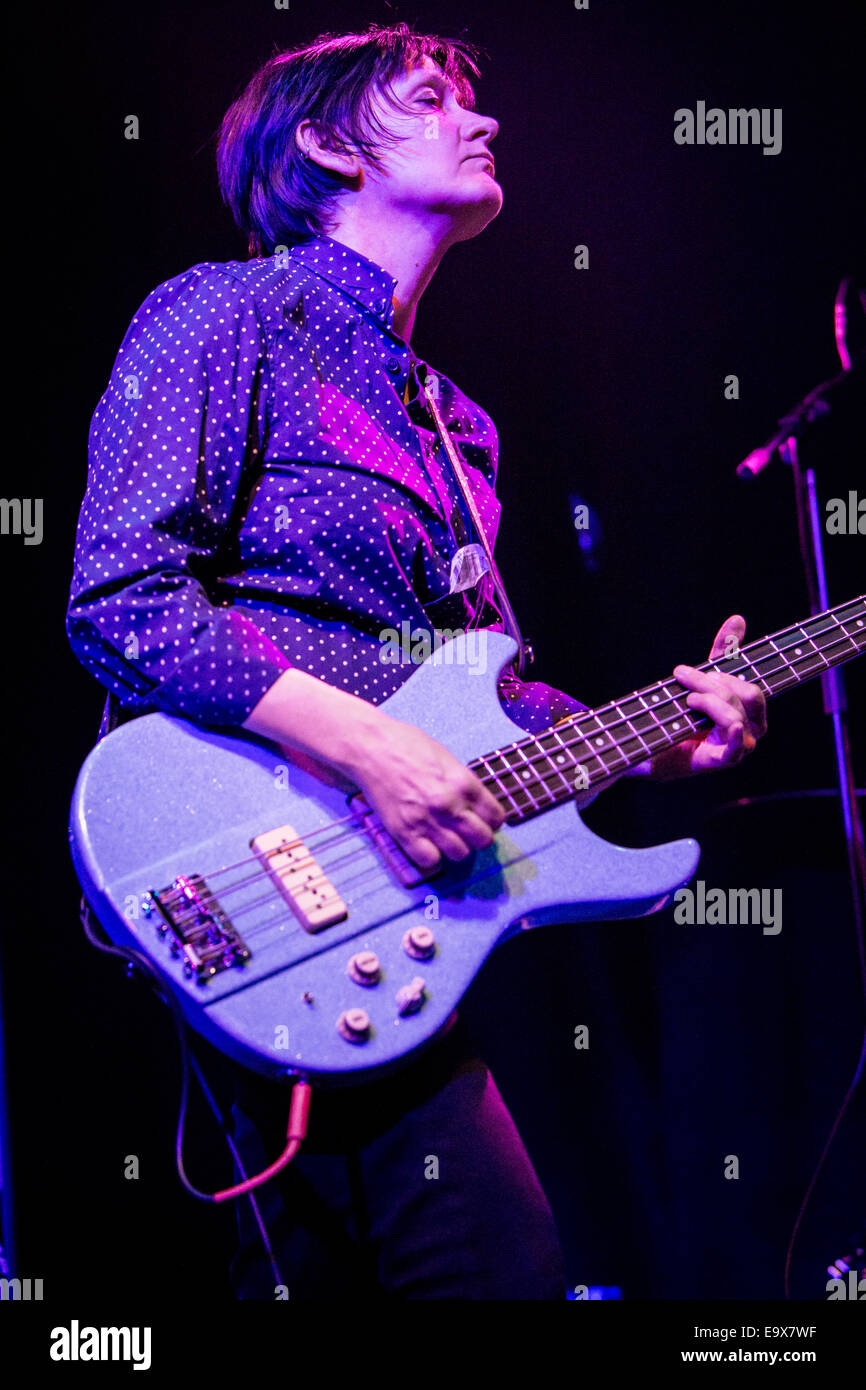 Milan Italy. 02th November 2014. The American musician THURSTON MOORE and his Band performs live at the music club Stock Photo