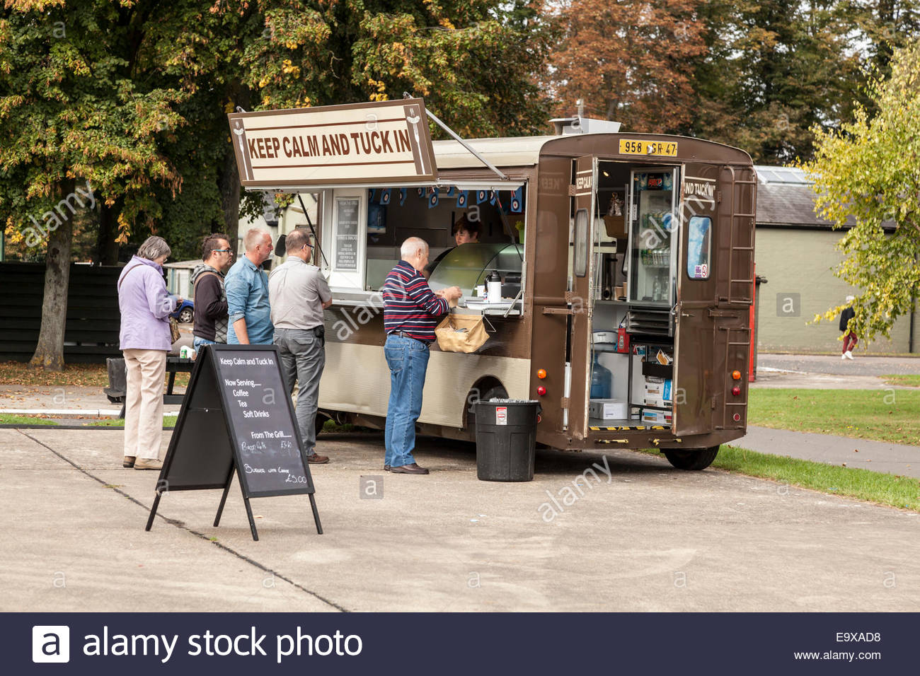 8a0e4b306f Mobile Catering Van Stock Photos   Mobile Catering Van Stock Images ...