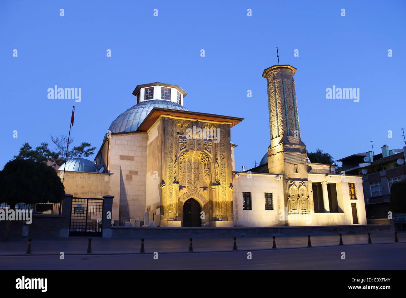 Ince Minaret Medrasah - Stock Image