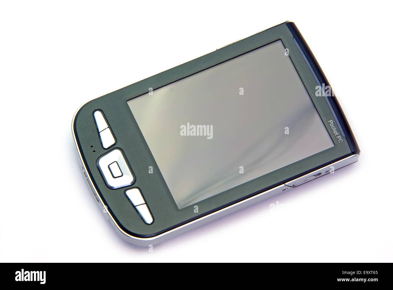 PDA phone isolated on a white background. - Stock Image