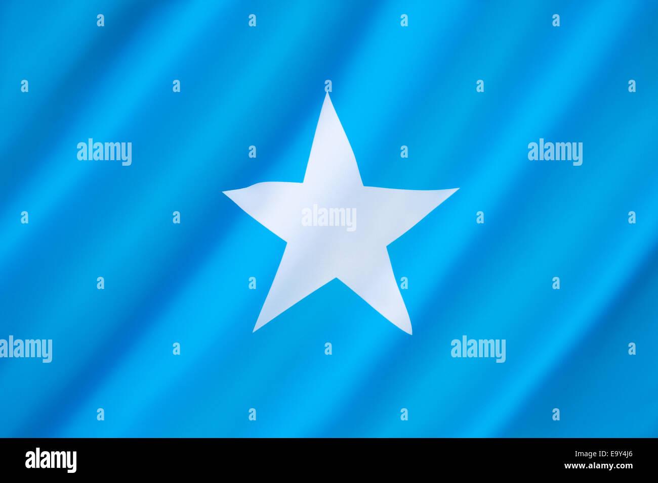 Flag of Somalia - Stock Image