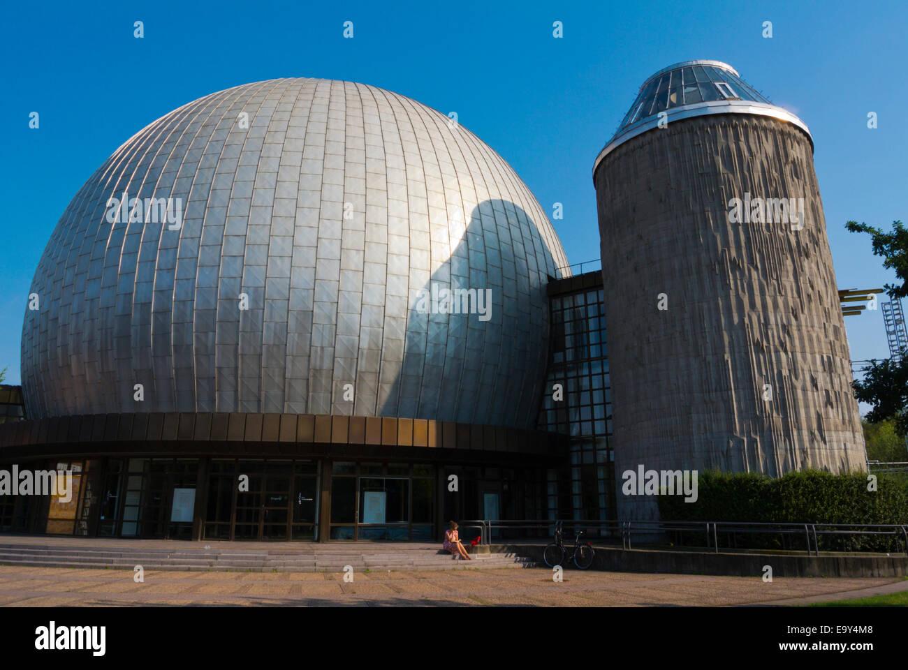 Zeiss-Grossplanetarium, Planetarium, Ernst-Thälmann-Park, Prenzlauer Berg district, Berlin, Germany - Stock Image