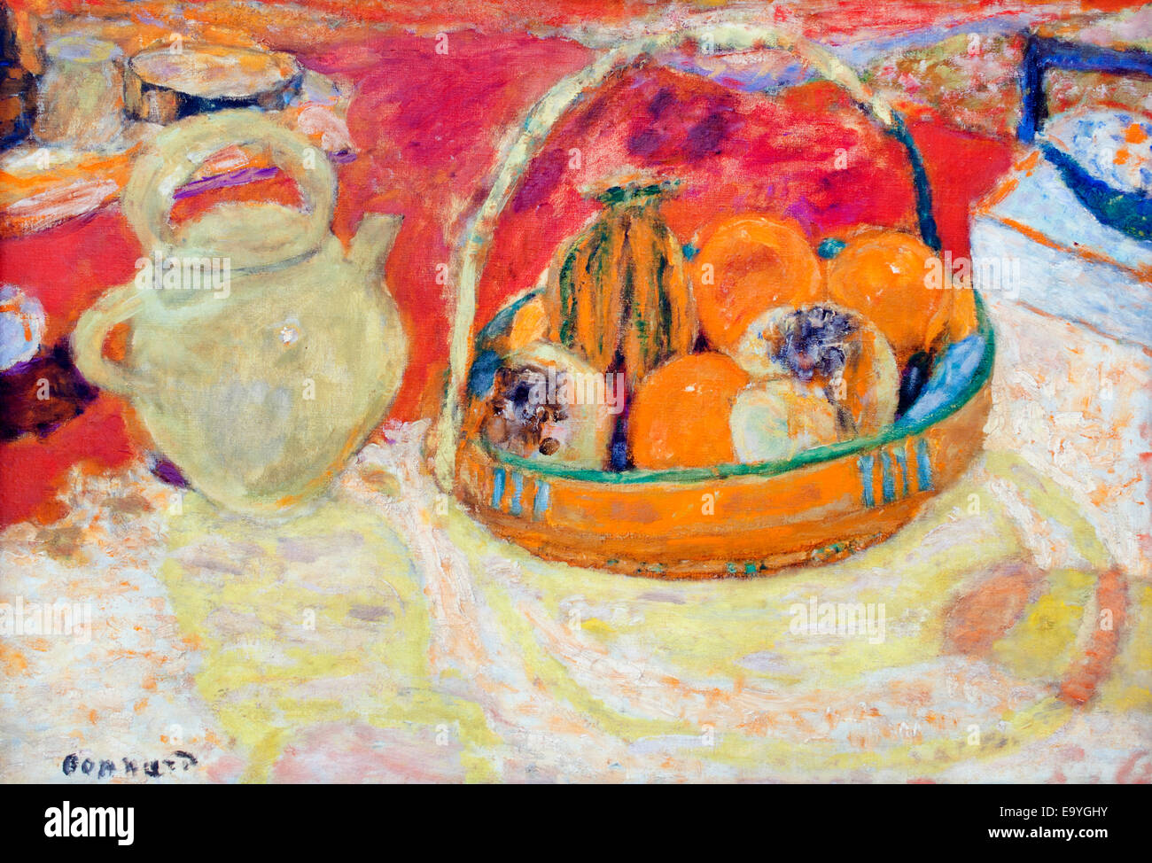 Pierre Bonnard 1867-1947 France French - Stock Image