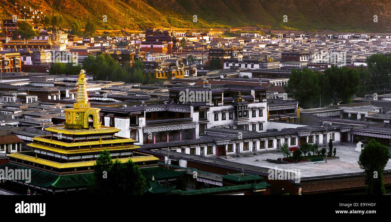 Gan Nan Labo stunned Temple - Stock Image