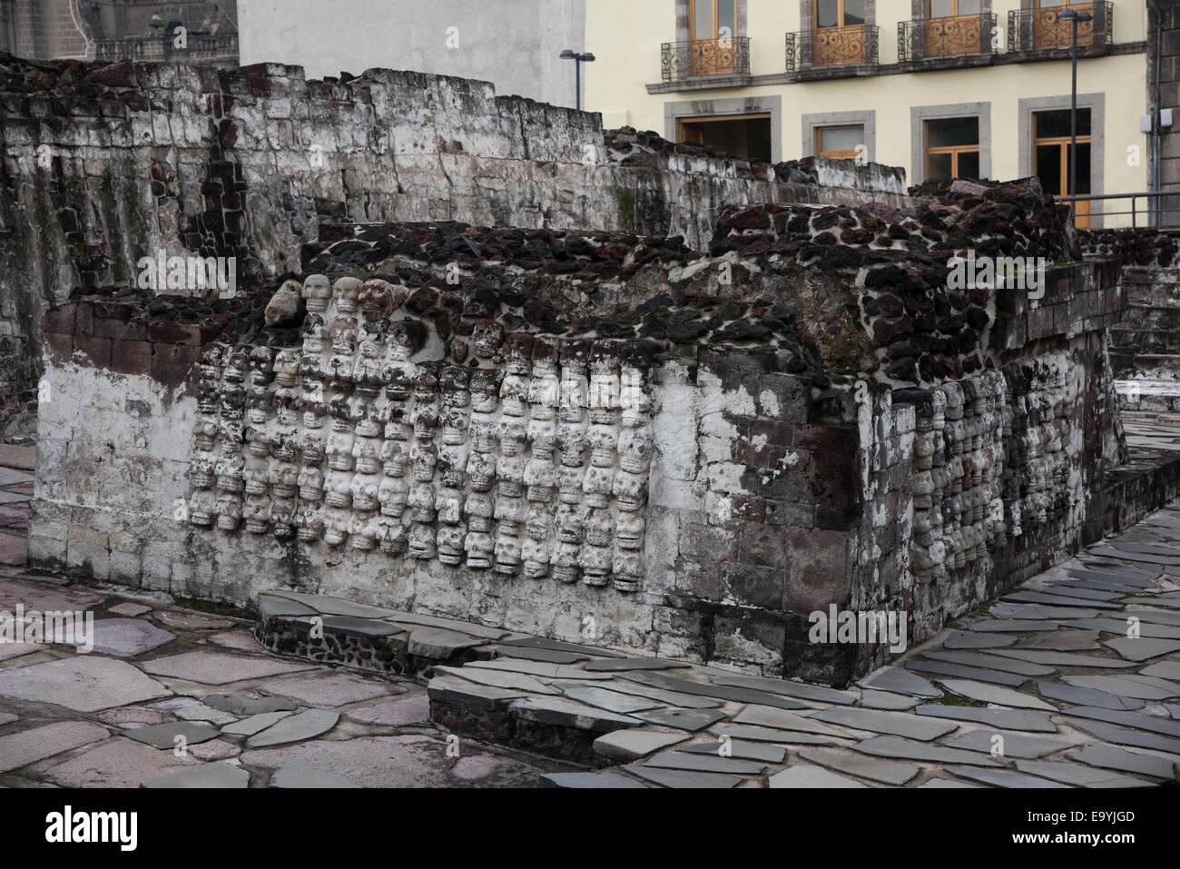Templo Mayor,Mexico city,Mexico Stock Photo