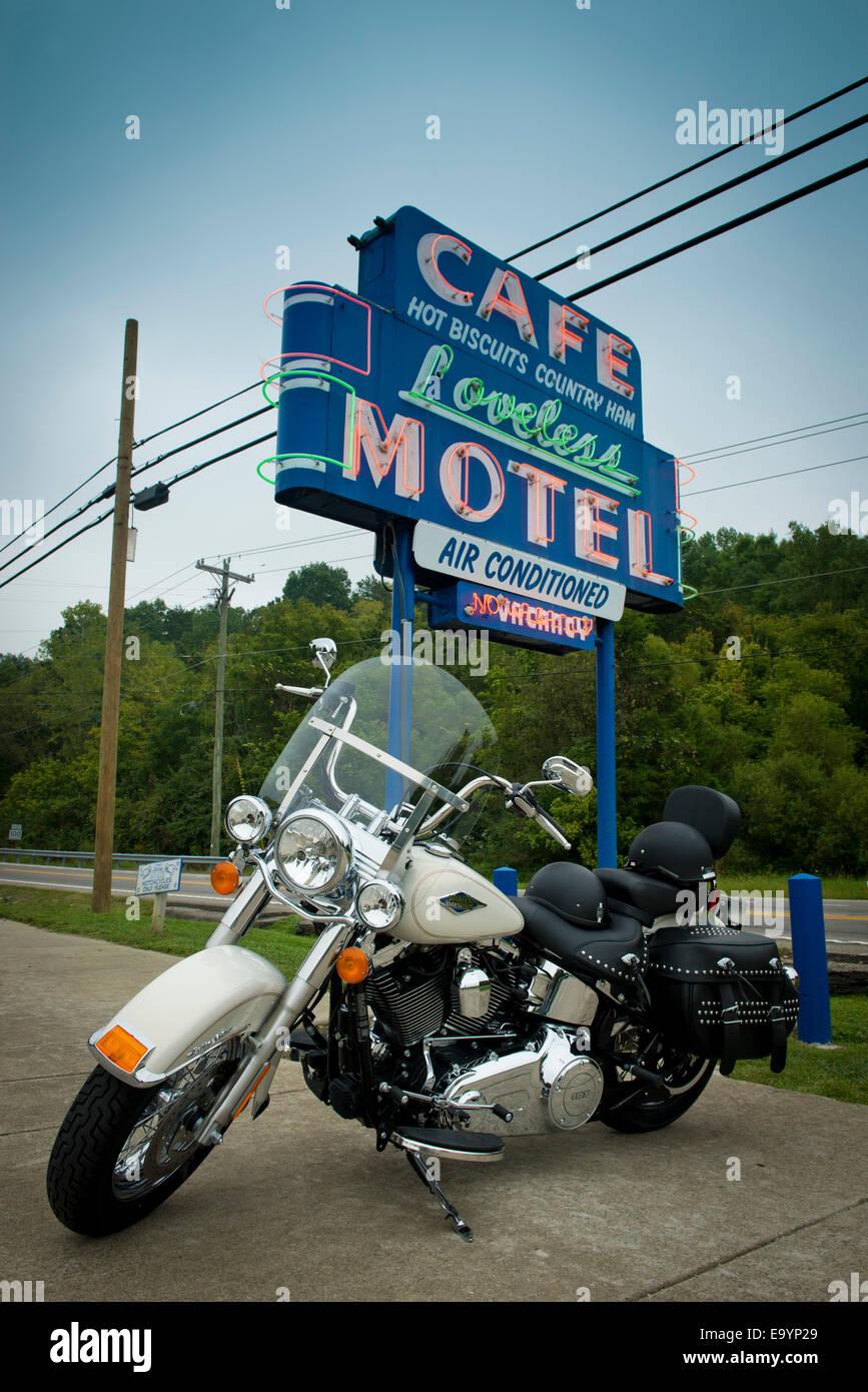 Loveless Motel and Cafe. Nashville, Tennessee - Stock Image