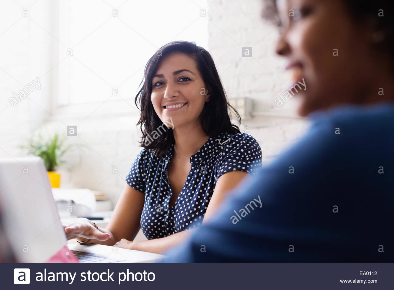 Colleagues in Small Business, Start-up - Stock Image