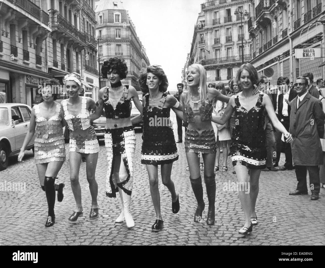 29th June, 1970. Evolutionary Assault Dress fashion in
