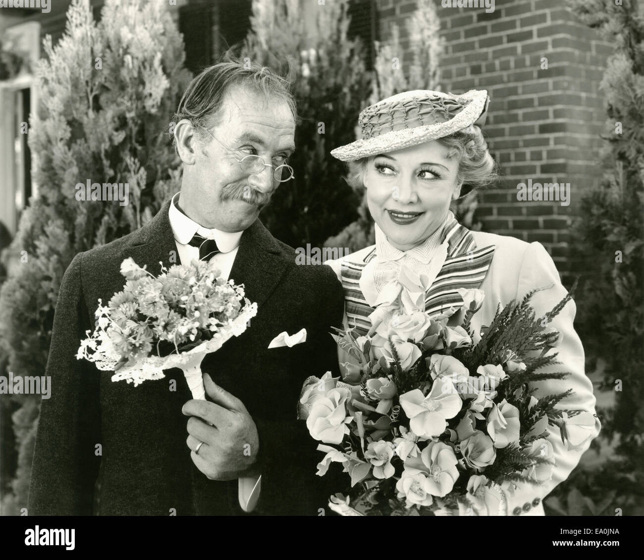 Wedding bliss - Stock Image