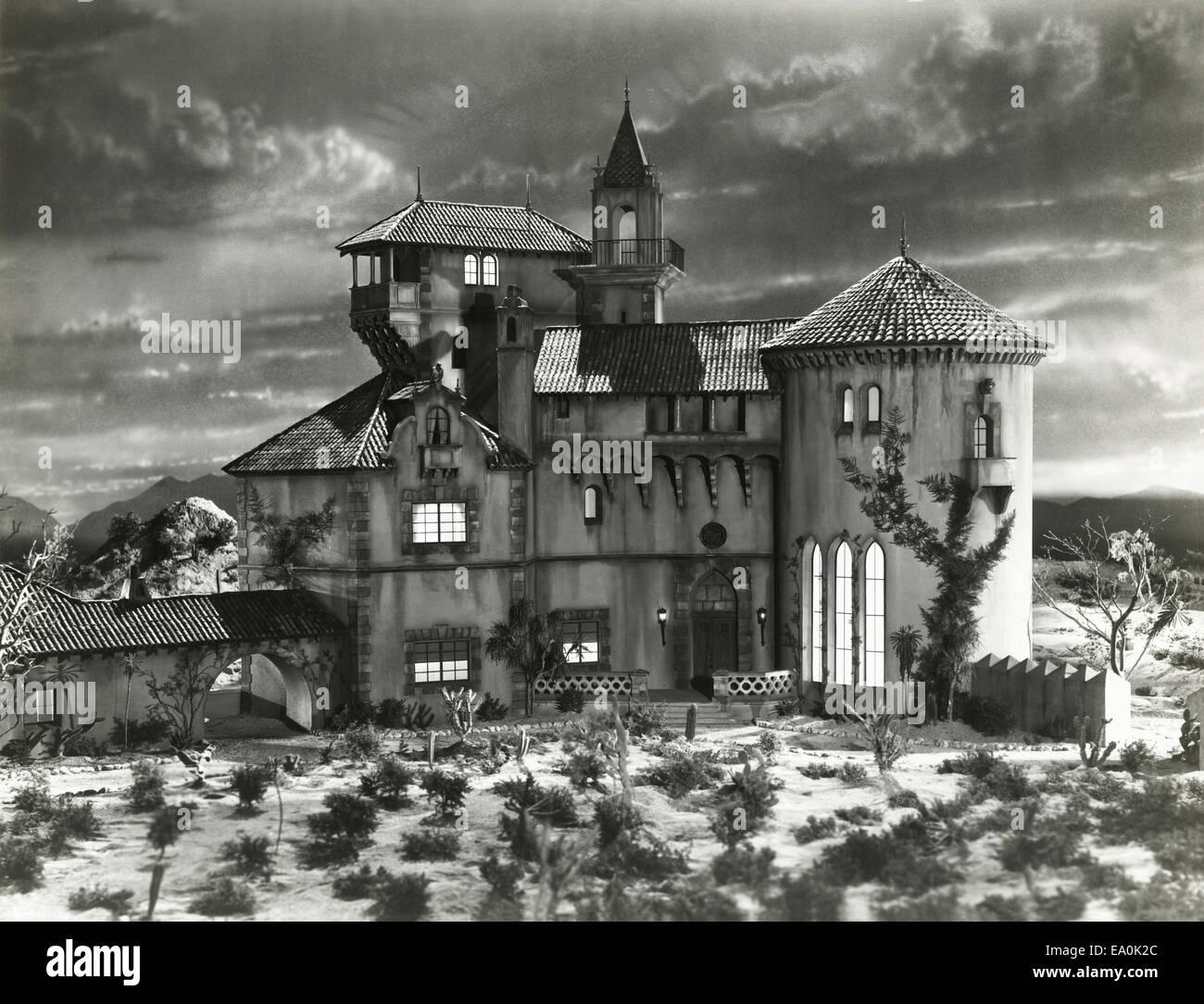 Haunted house - Stock Image