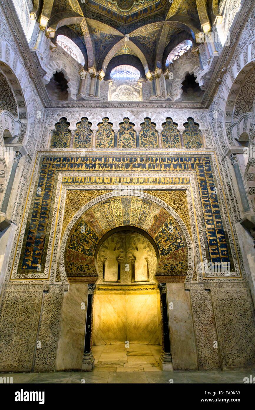Mezquita cordoba inside stock photos mezquita cordoba - Mezquita de cordoba de noche ...