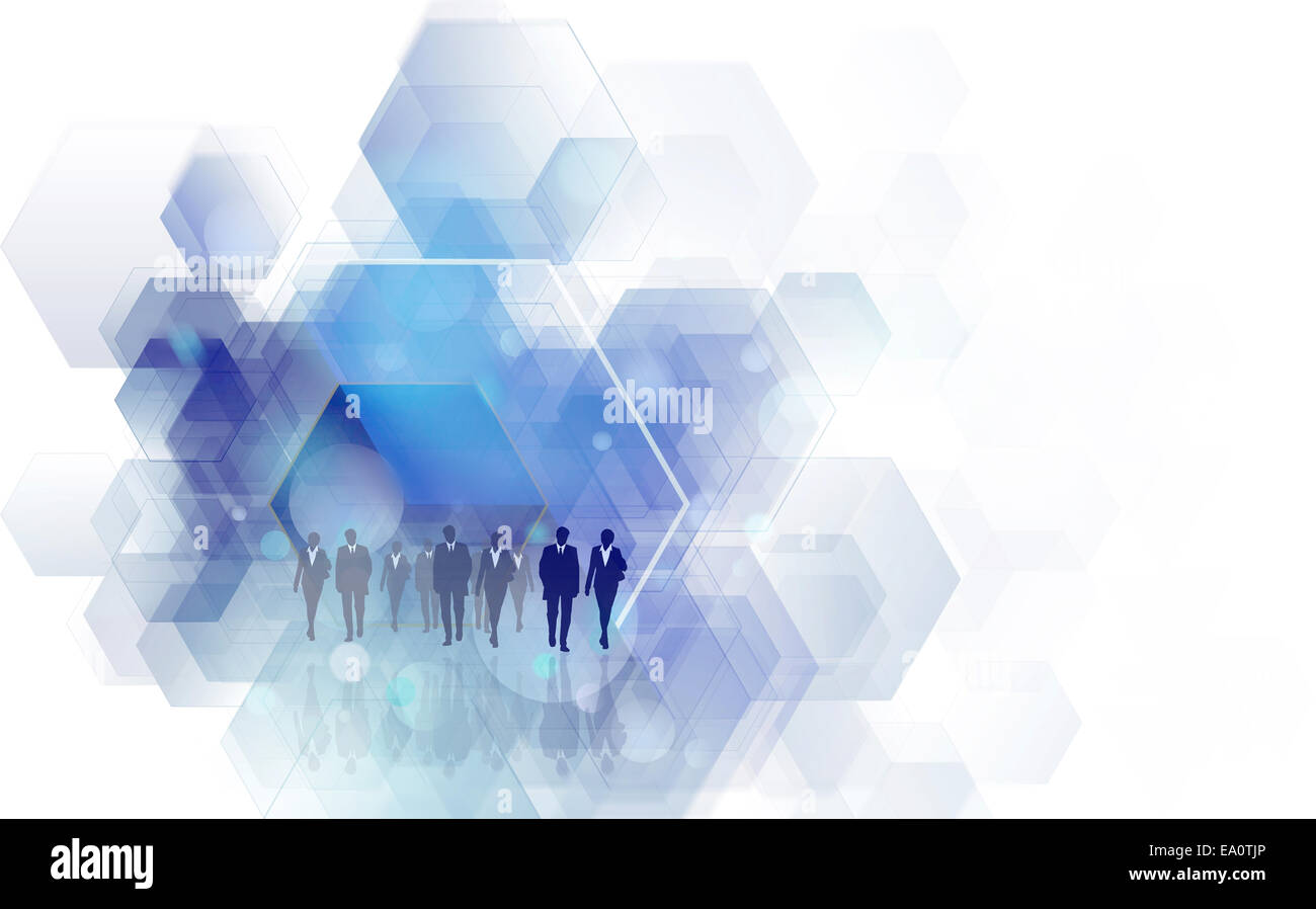 business team concept - Stock Image
