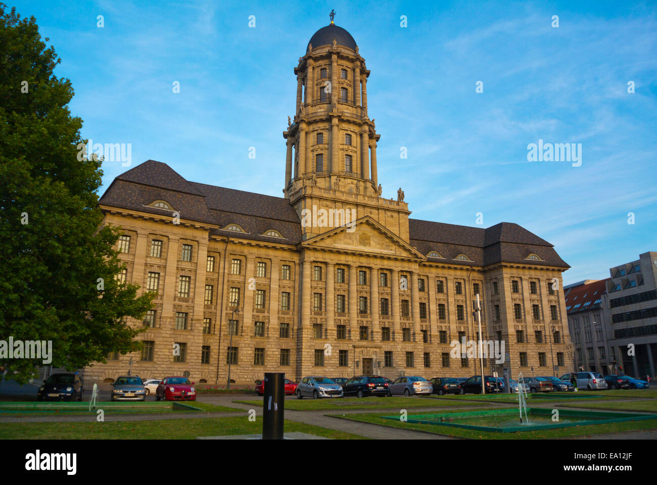 Altes Stadthaus building, Mitte district, east Berlin, Germany - Stock Image