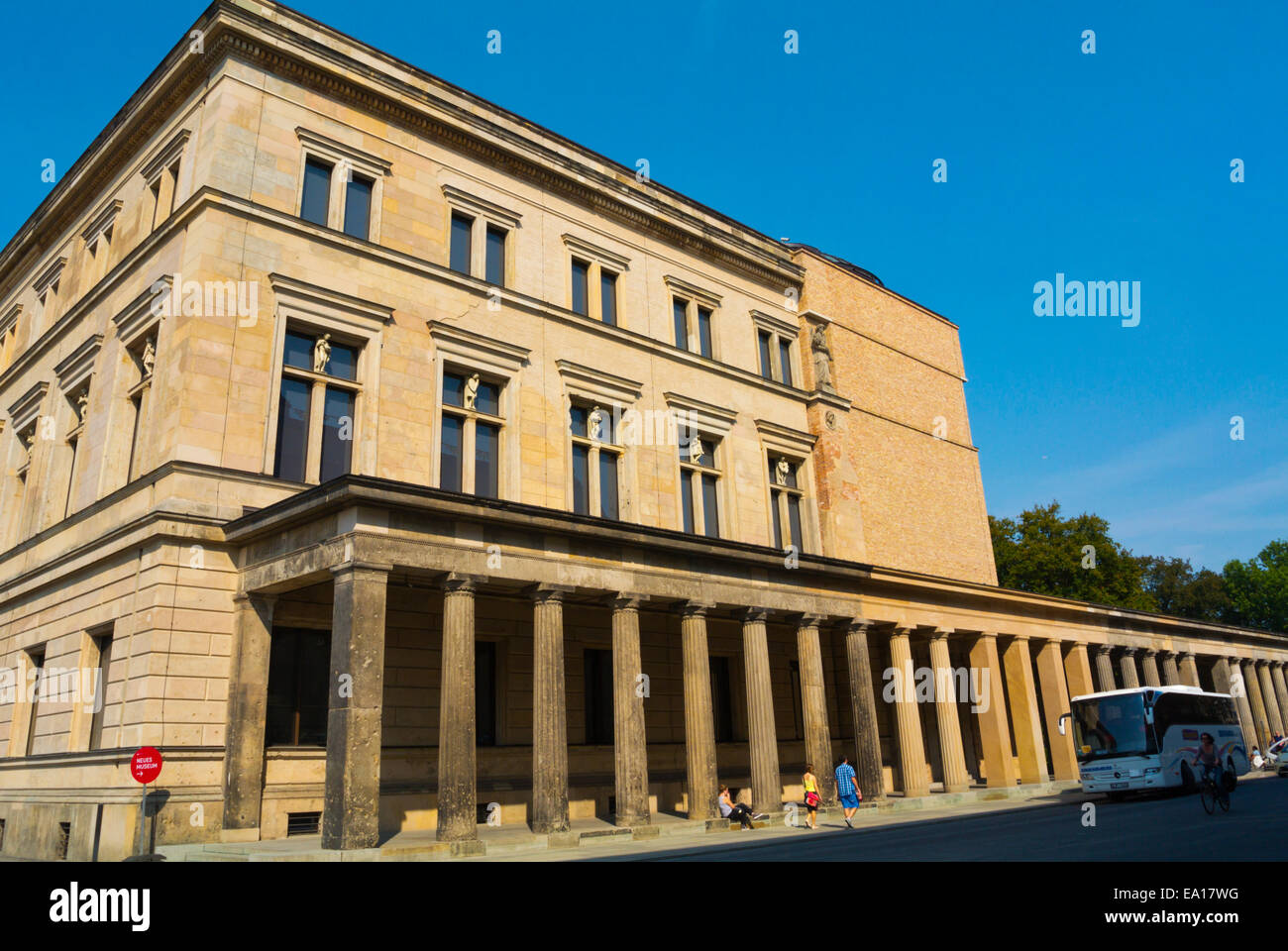 Neues Museum, Museumsinsel, the museum island, Mitte district, central Berlin, Germany Stock Photo