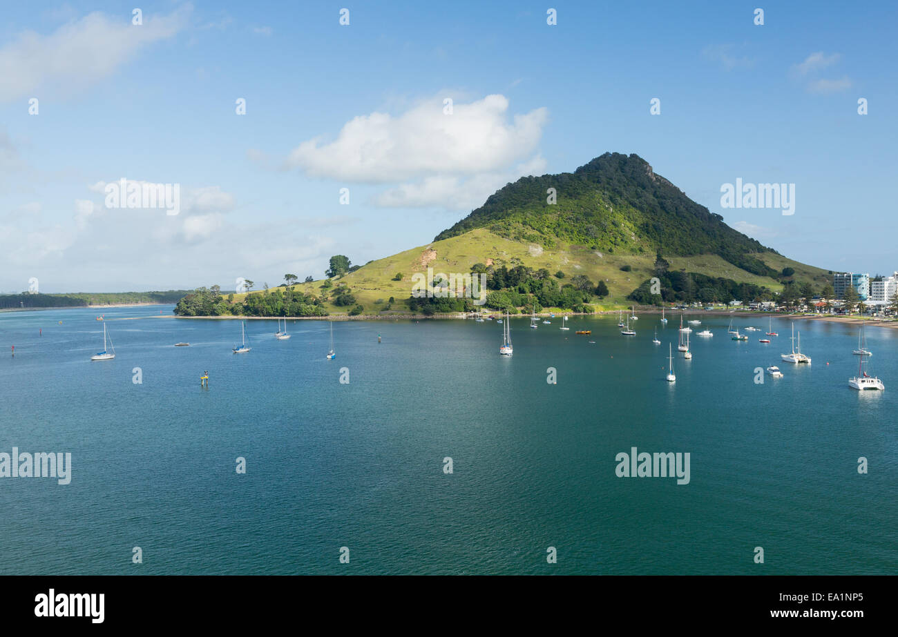 The Mount at Tauranga in NZ - Stock Image