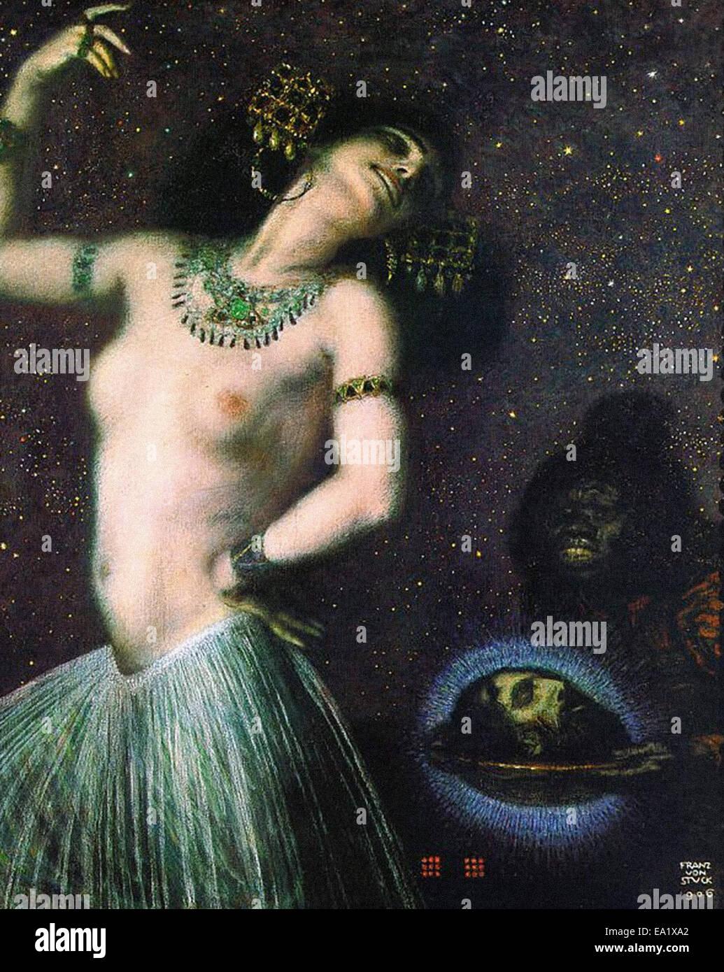 Franz von Stuck  Salome - Stock Image