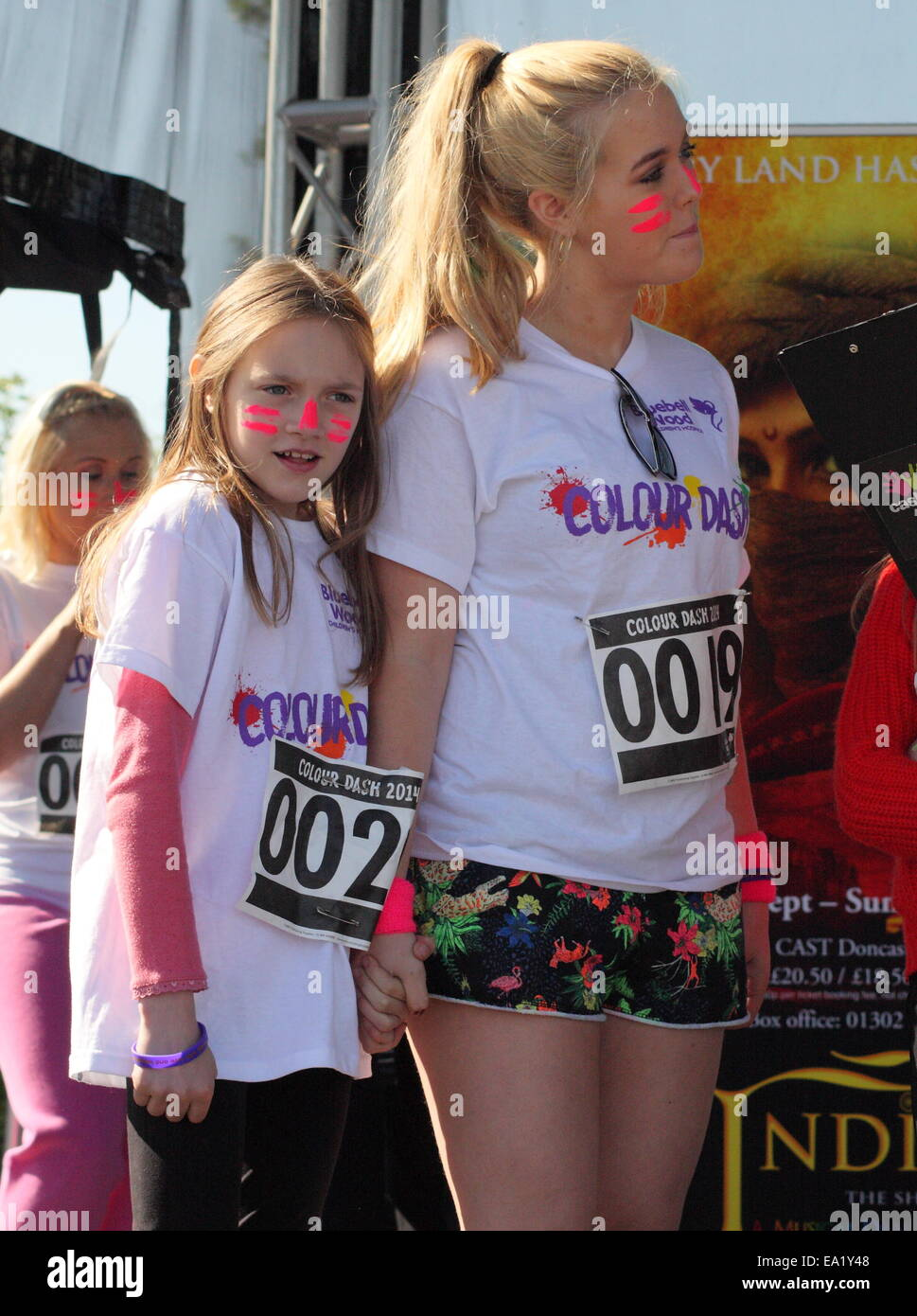 louis� sisters lottie 15 daisy 10 and phoebe