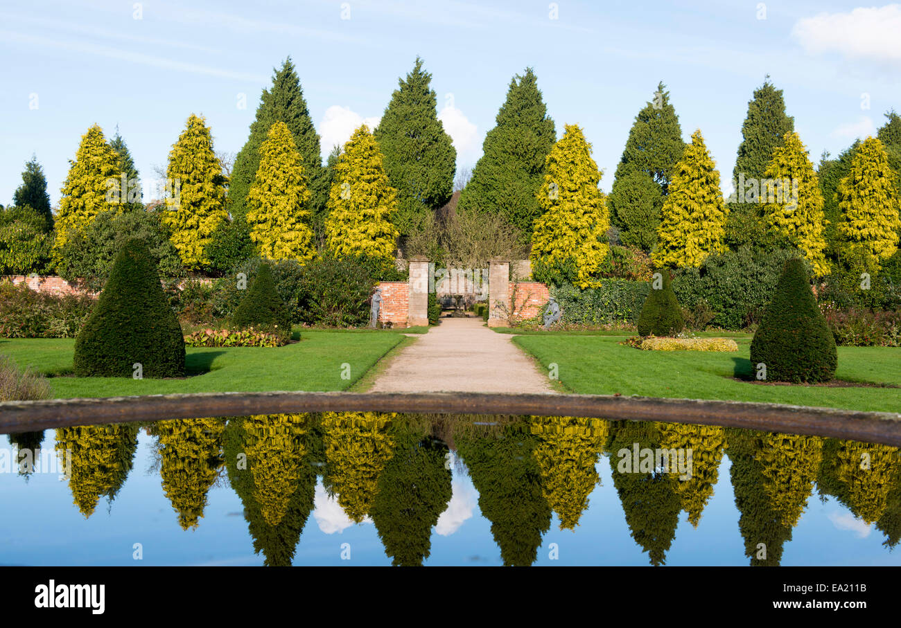 Autumn at Newstead Abbey in Nottinghamshire England UK Stock Photo