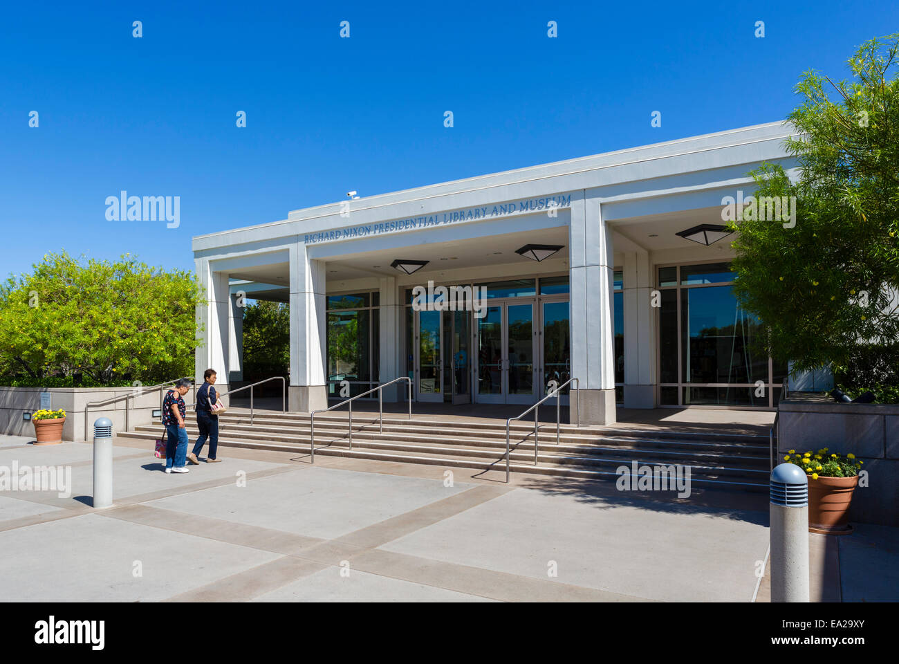 The Richard Nixon Presidential Library and Museum, Yorba Linda, Orange County, near Los Angeles, California, USA - Stock Image