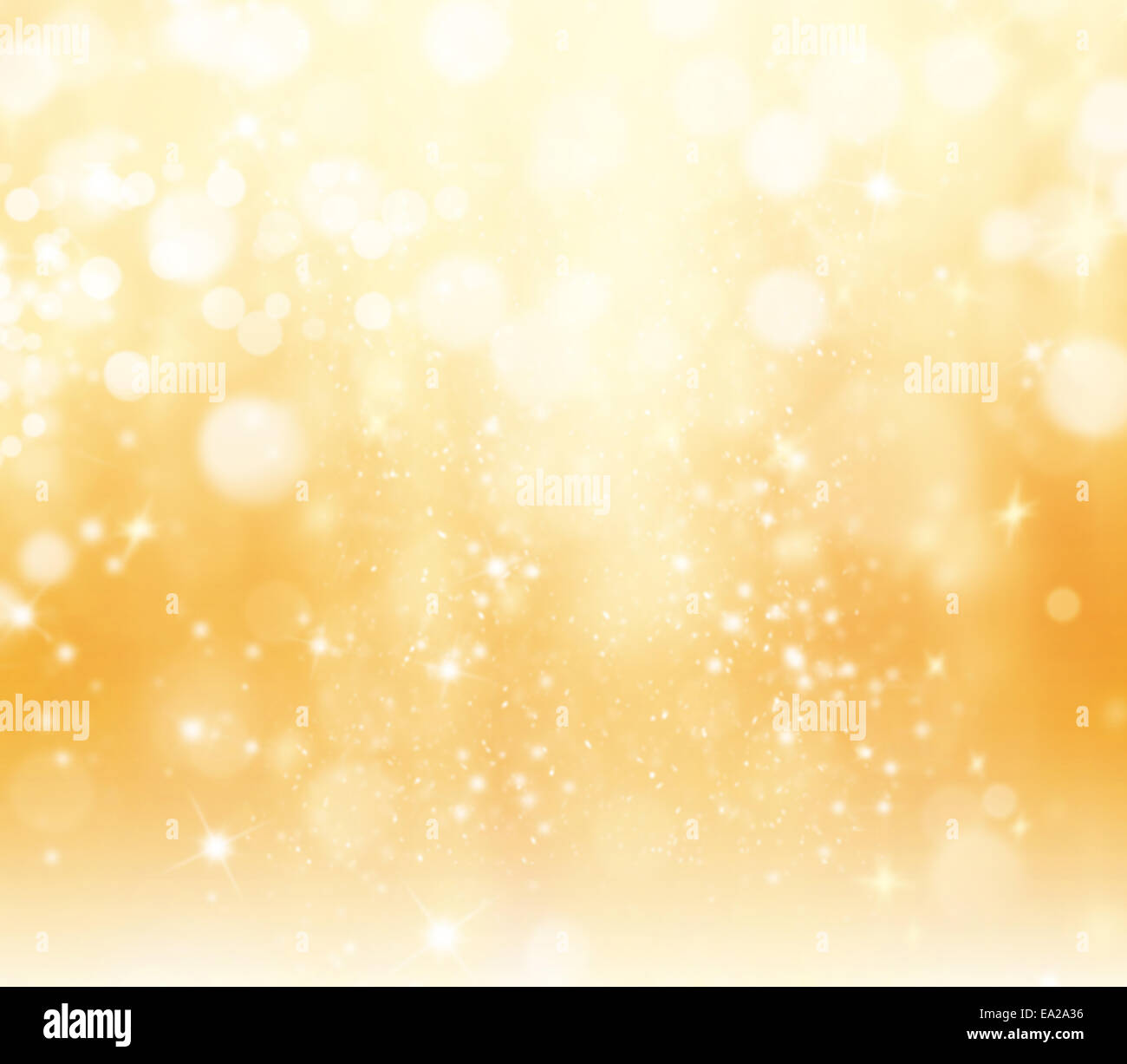 Shimmering blur spot lights on abstract background - Stock Image