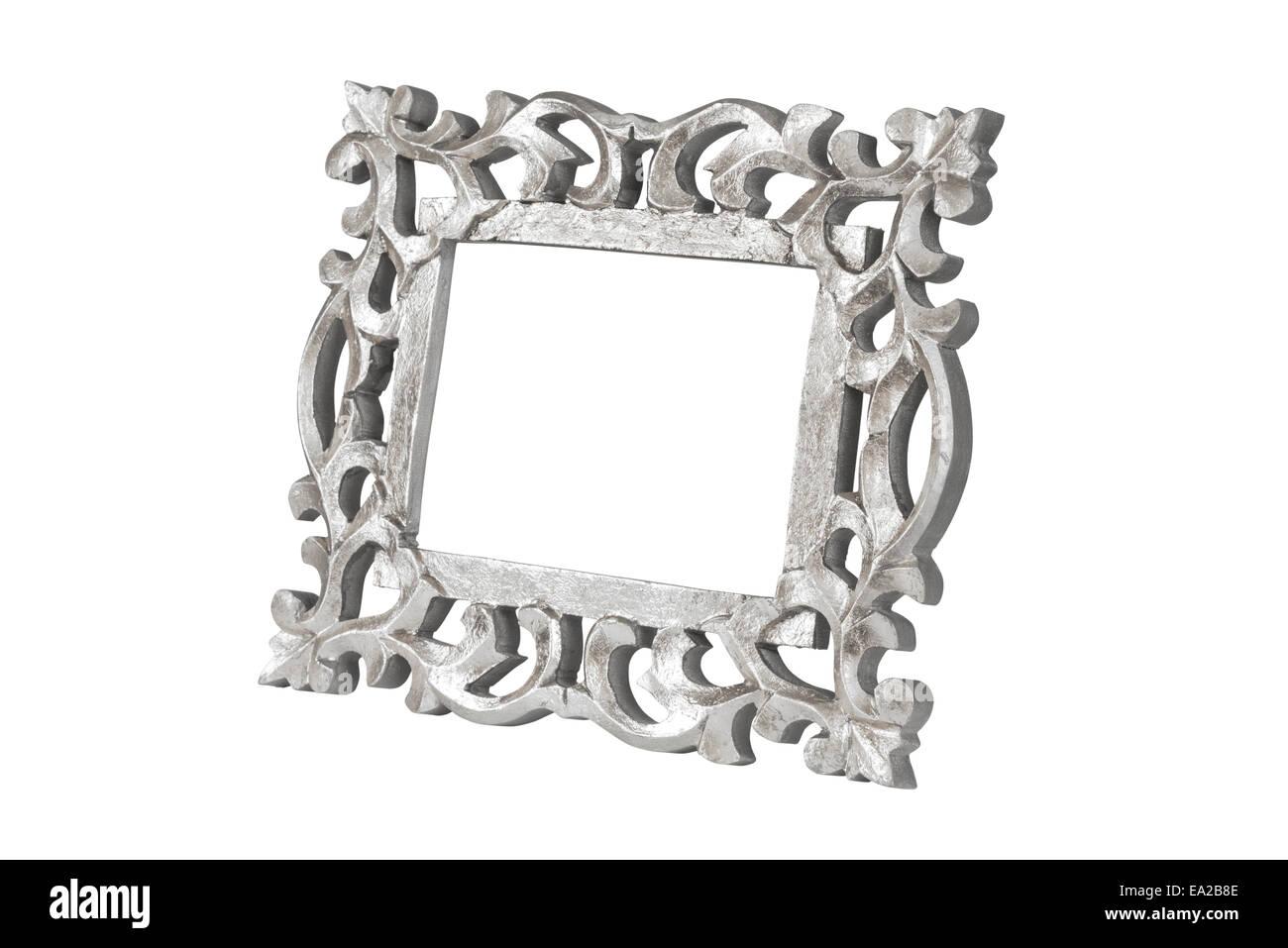 Ornate Silver Photo Frames Stock Photos & Ornate Silver Photo Frames ...