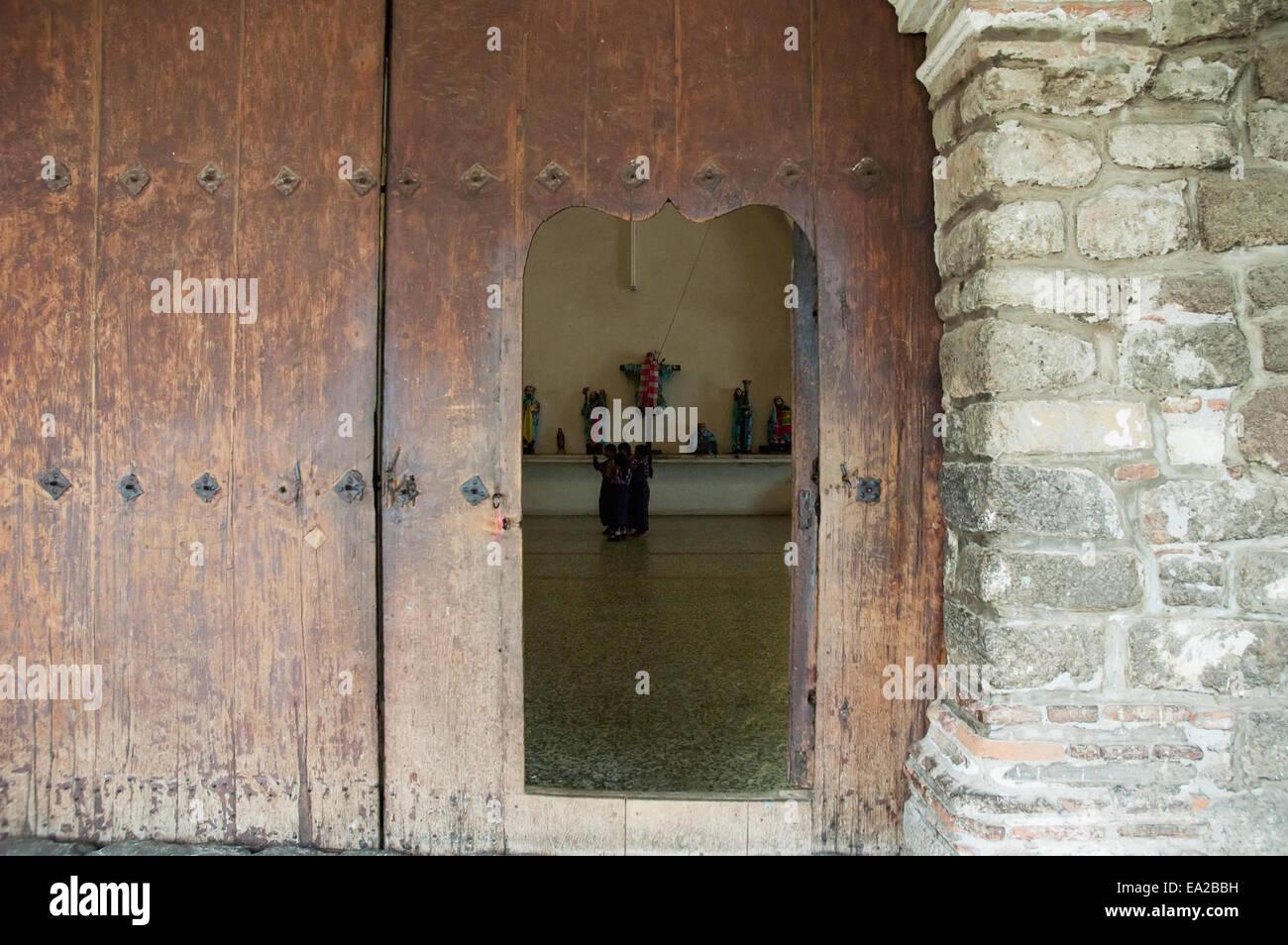 Side Door Of The Santiago Ap - Stock Image