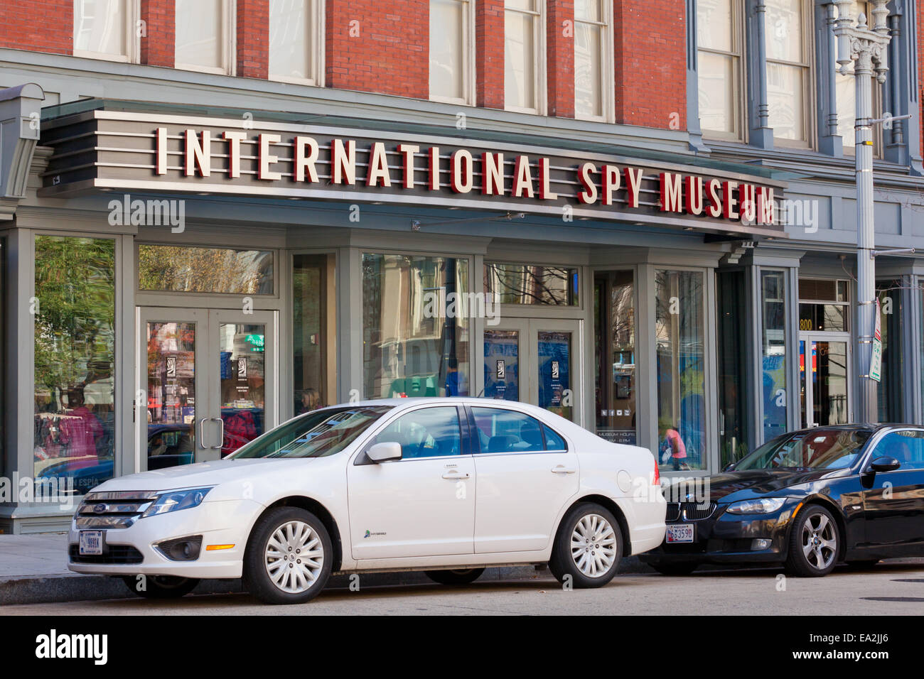 International Spy Museum front - Washington, DC - Stock Image