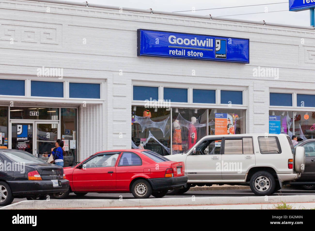 Goodwill store - USA - Stock Image