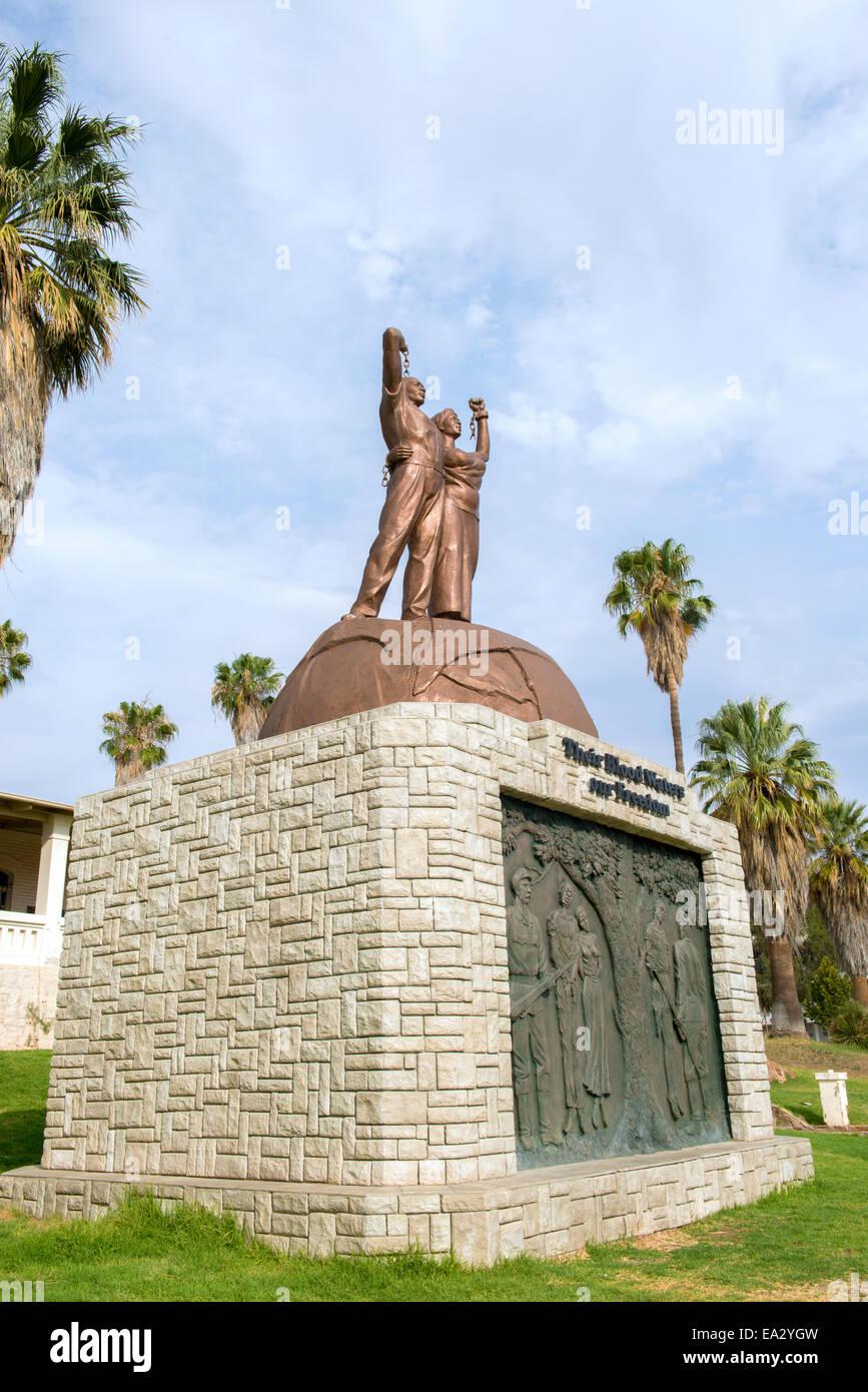 Windhoek, capital of Namibia - Stock Image