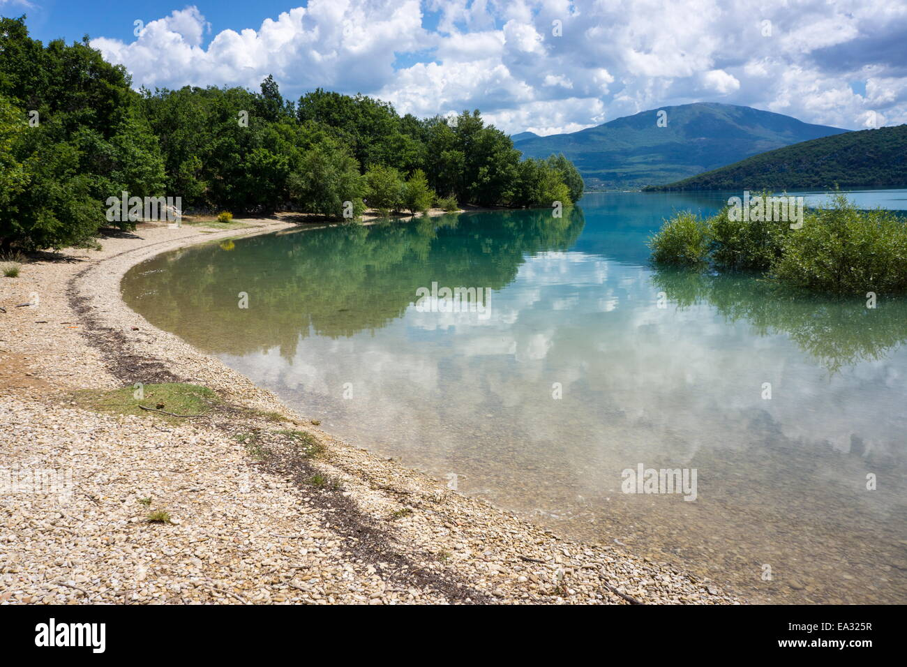 Lac de Sainte-Croix, Gorges du Verdon, France, Europe Stock Photo