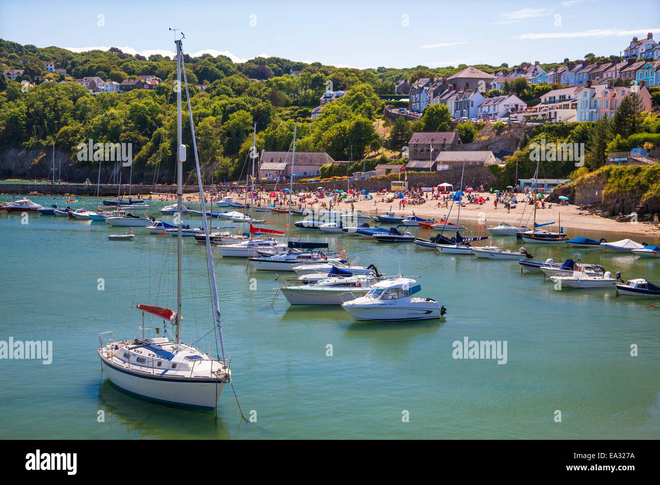 New Quay, Ceredigion, Dyfed, West Wales, Wales, United Kingdom, Europe Stock Photo