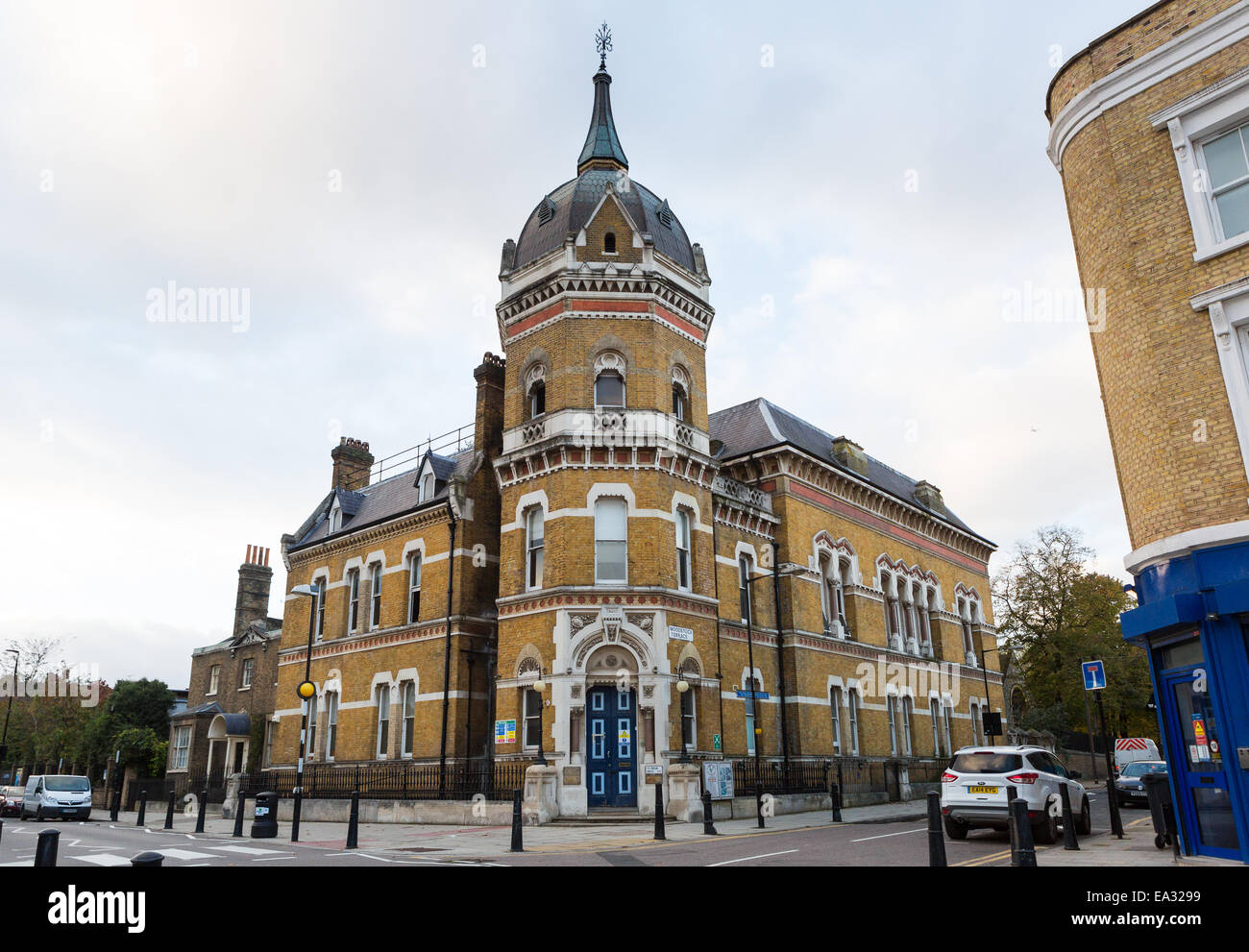 Old Poplar Town Hall and Council Offices in Tower Hamlets, East London - Stock Image