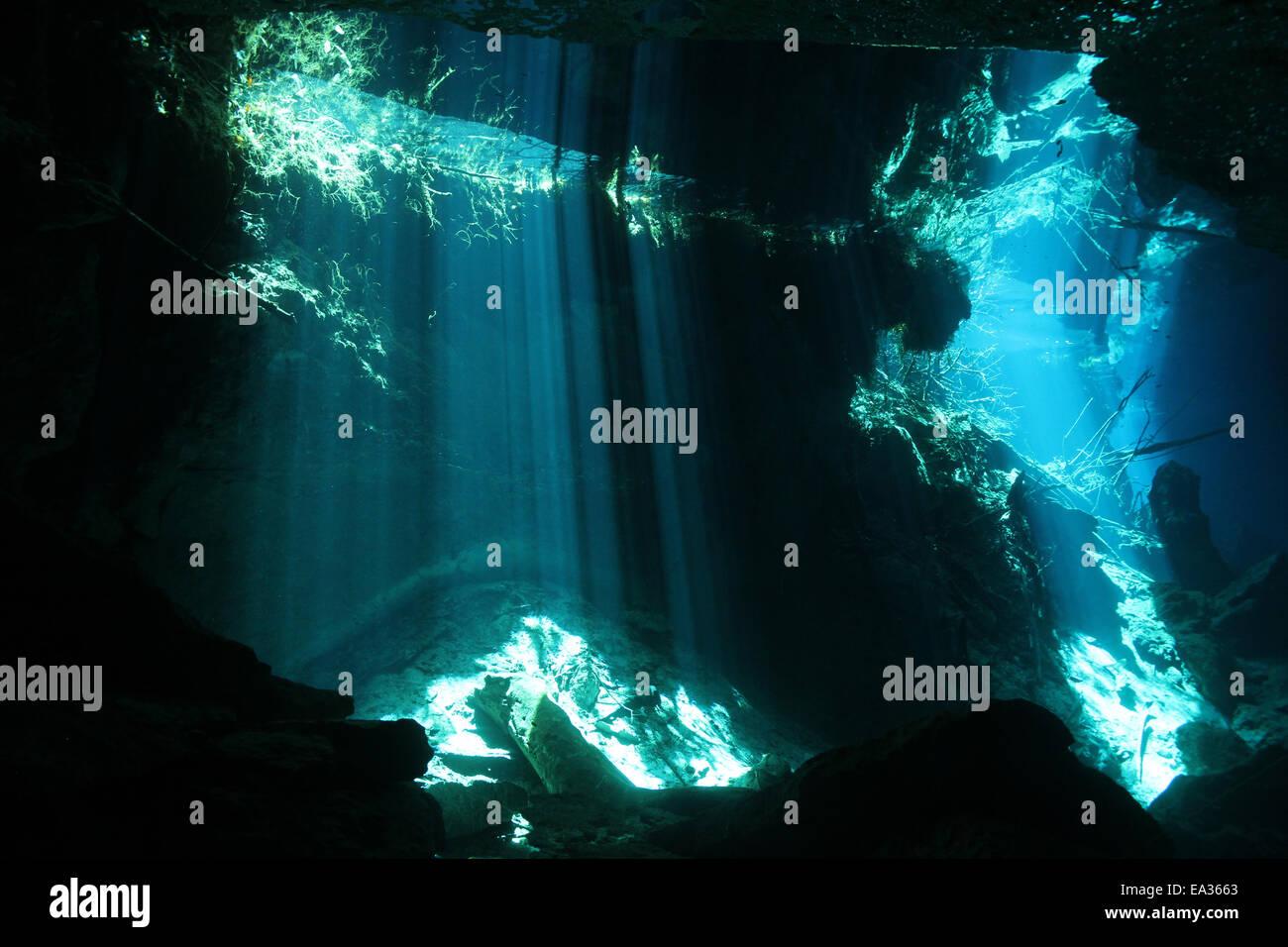 Chac Mool Cenote - Stock Image