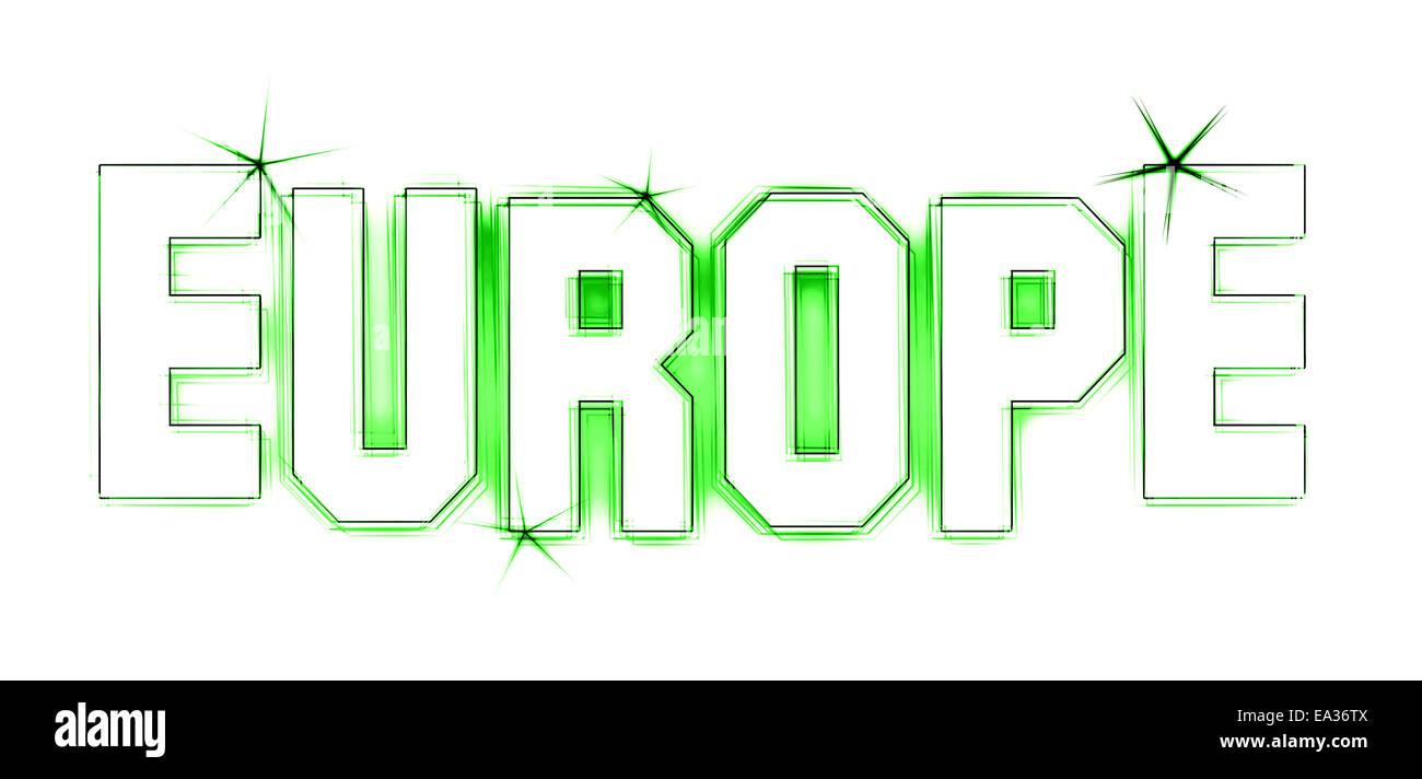 Europe - Stock Image