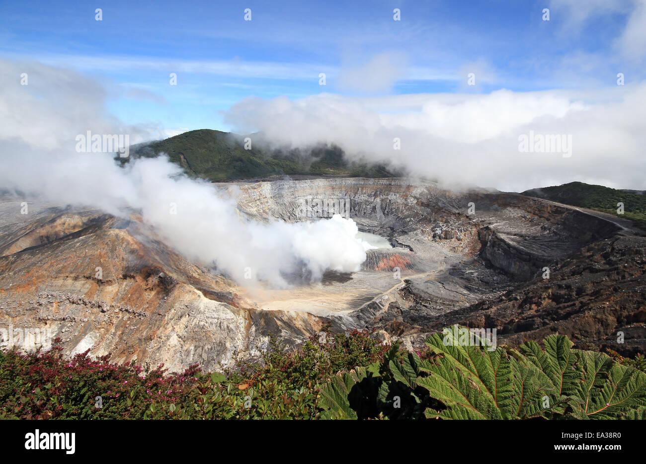 Poás Volcano - Stock Image